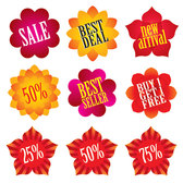Category Icon sales of flower shape
