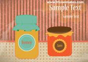 Honey And Jam Jar