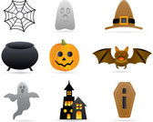 Halloween stock Vector Icons