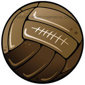 RETRO SOCCER BALL VECTOR.eps