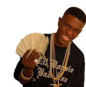 Lil Boosie With Stacks. PSD