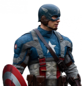 Captain America PSD