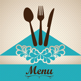 Menu restaurant creative cover vector-3