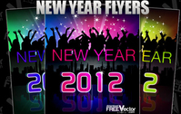 New Year Flyer in