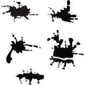 SPATTER GRUNGE STAINS VECTOR.eps