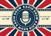 Retro American Radio Show Background