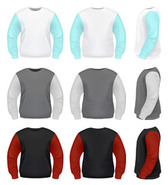 Realistic Sweater Pack Template