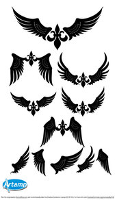 Simple Wings Vector Pack