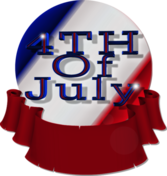 4th of July PSD
