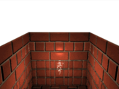 bRiCk waLL wItH wAtEr PSD