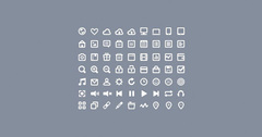 63 Perfect Little Glyph Icons Pack PSD