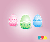 Easter Eggs Vector Graphics (Free)