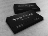Dark Lawyer Business Card Template