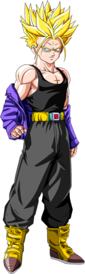 Future SS Trunks PSD