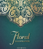 Vector floral graphic