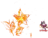 FIRE FLOWER PSD