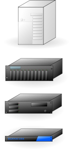 rack mount thick tower servers x86