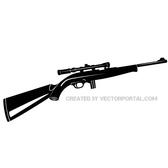 SNIPER RIFLE VECTOR IMAGE.eps