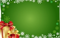 FREE VECTOR CHRISTMAS GIFT AND BACKGROUND