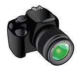 CAMERA VECTOR IMAGE.eps