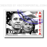 OBAMA & CLINTON STAMP.eps