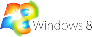 Compatible Windows 8 Logo PSD