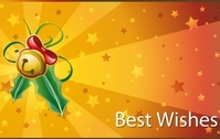 Christmas Best Wishes Cards