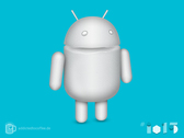 Android Marshmallow Mascot [free PSD]