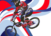 Team USA Patriotic BMX