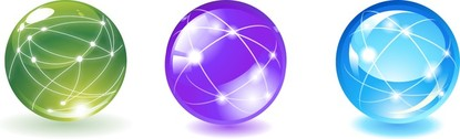 Sphere Ball With Communication Lines