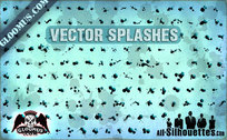 173 Grunge Vector Splashes