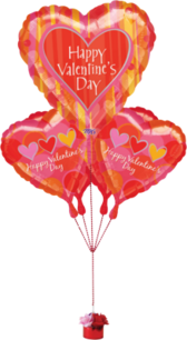 Valentine's Day Balloons PSD