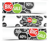 Creative promotional banner