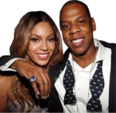 Jay-Z and Beyonce PSD