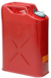 5 Gallon Metal Gas Can PSD