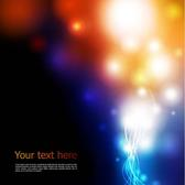COLORFUL LIGHTS VECTOR GRAPHICS.eps