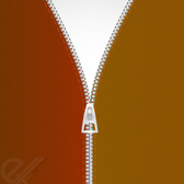 Free vector metal zipper