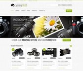 Camy Free PSD Template