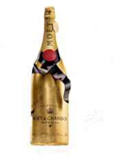 Champagne Bottle PSD