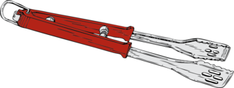 barbeque tongs