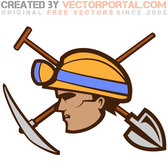 MINER VECTOR ILLUSTRATION.eps