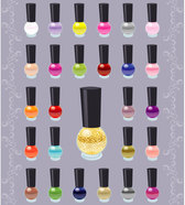 Nail Polish Color Vector Free