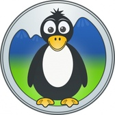 Penguin In The Mountains
