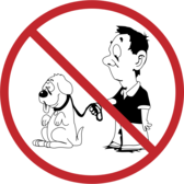 No dogs allowed (redrawn)