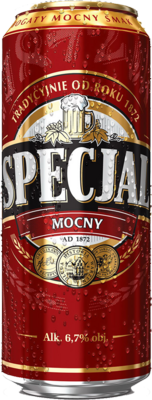 Specjal Beer Can RED PSD
