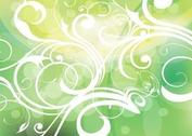 Green Gradients Filigree