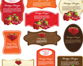 10 Fruit Labels Pack