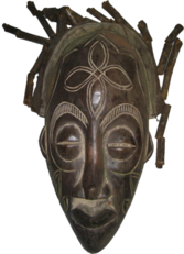 African Mask 2 PSD