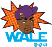 Wale Cartoon PSD
