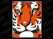 Featured Tiger Head